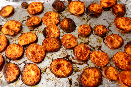 BBQ Sweet Potato Rounds | Witty in the City