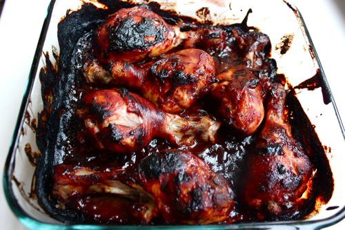 Easiest Bbq Chicken Legs Witty In The City