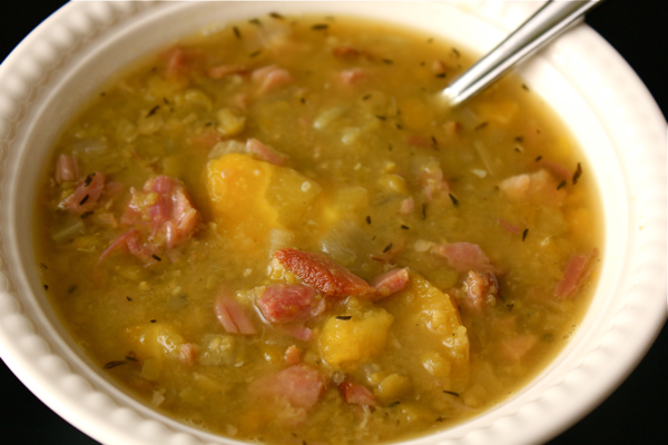 Flavorful and Filling Split Pea Soup with Ham | Witty in the City