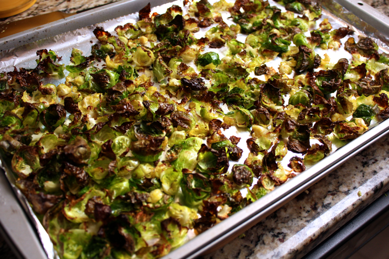 Crispy sprouts