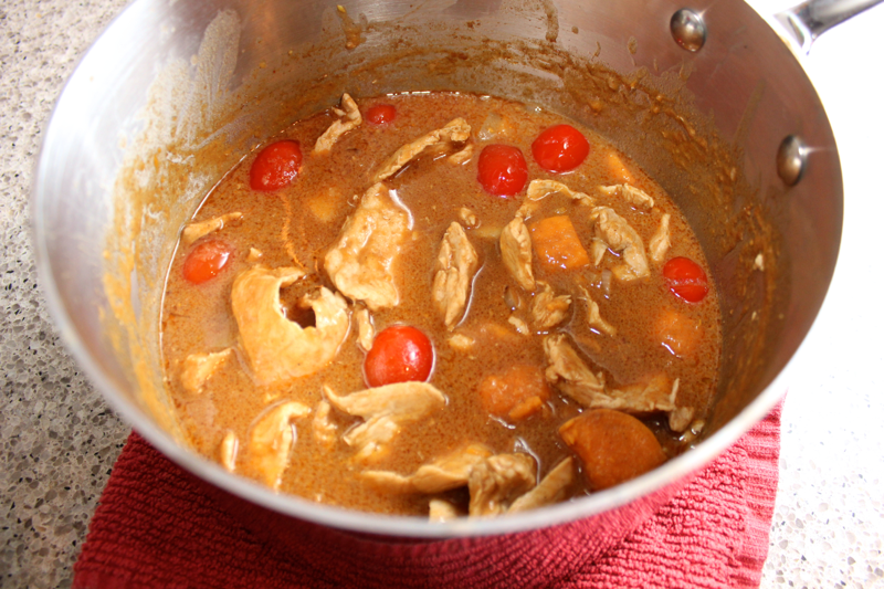 Taste of Thai: Massaman Chicken Curry