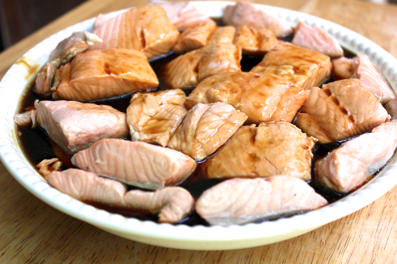 Stress-Reducing Salmon Teriyaki