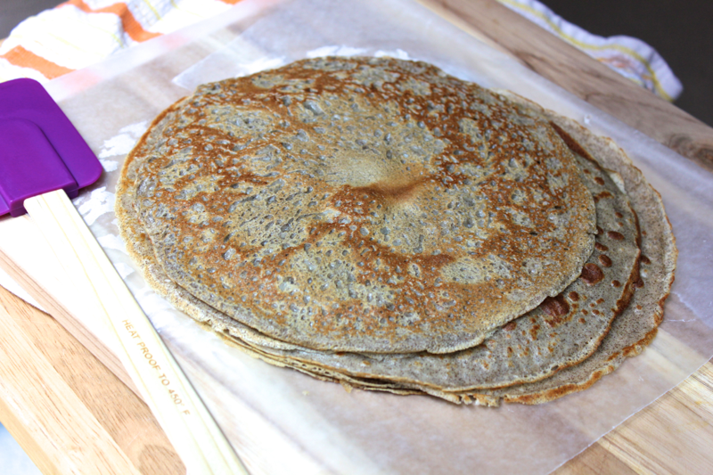 Savory Buckwheat Crepes