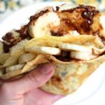 Nutella-Banana Crêpes