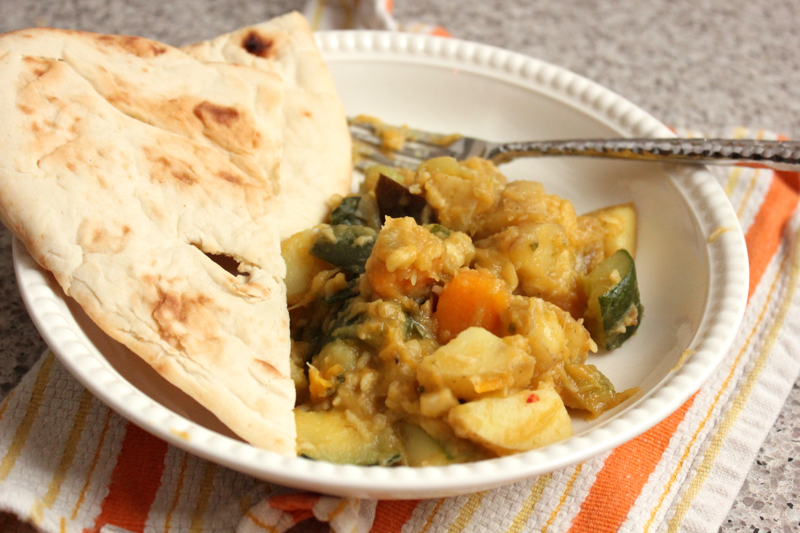 Multi-Squash Coconut Curry