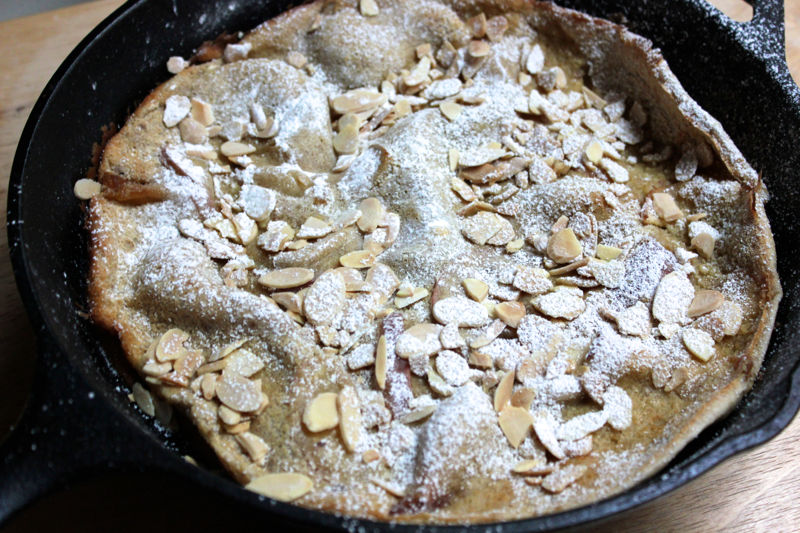 Dutch Apple Cider Pancake