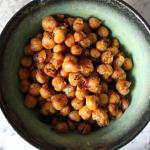 Savory Roasted Chickpeas
